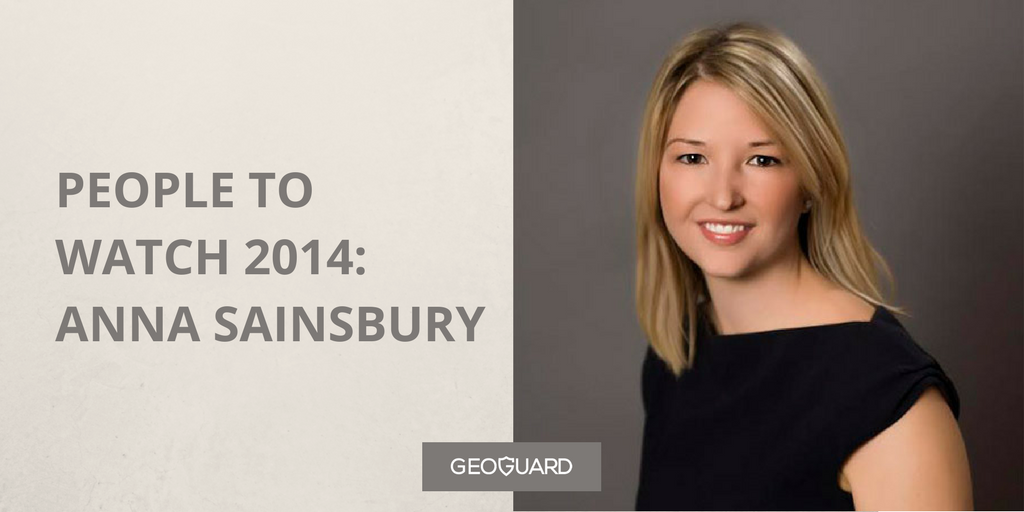 PEOPLE TO WATCH 2014- ANNA SAINSBURY