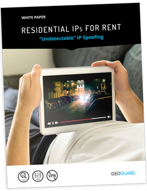 """Residential IPs for Rent - """"Undetectable"""" IP Spoofing   GeoGuard"""