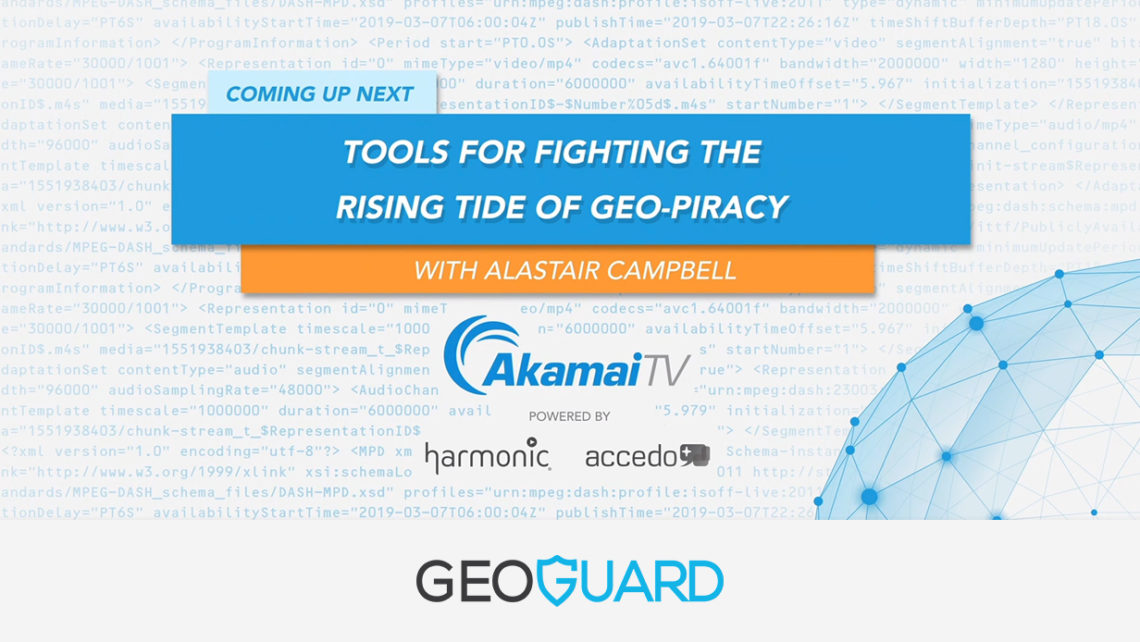"GeoGuard on ""Tools for fighting the rising tide of Geo-Piracy"" 