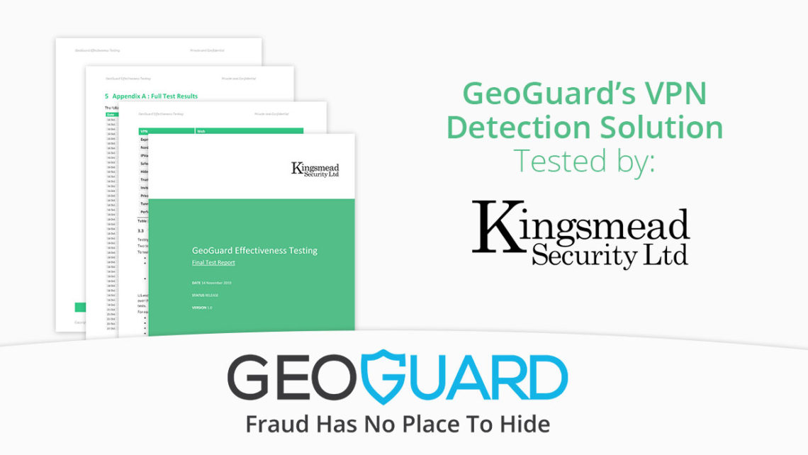 GeoGuard's solution tested by Kingsmead