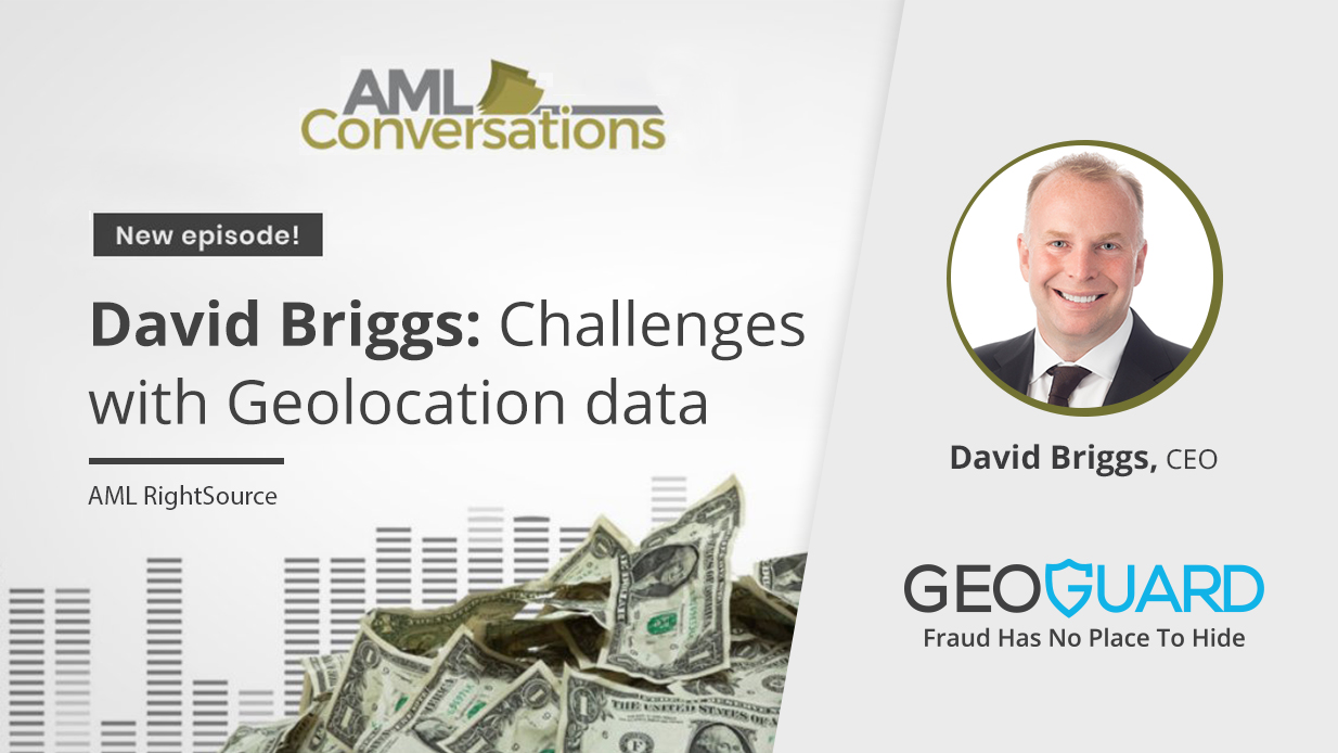AML conversations david briggs geoguard