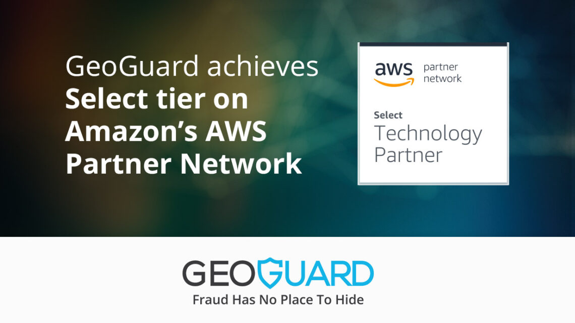 GeoGuard achieves Select tier on Amazon's AWS Partner Network