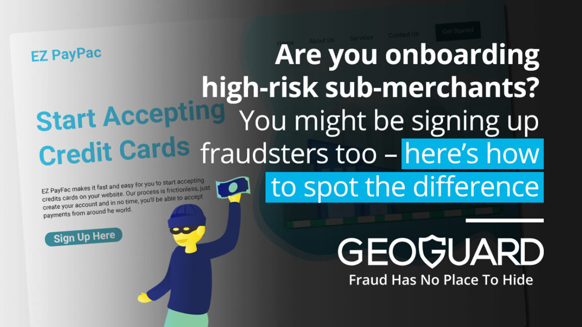 Are you onboarding high-risk sub-merchants?