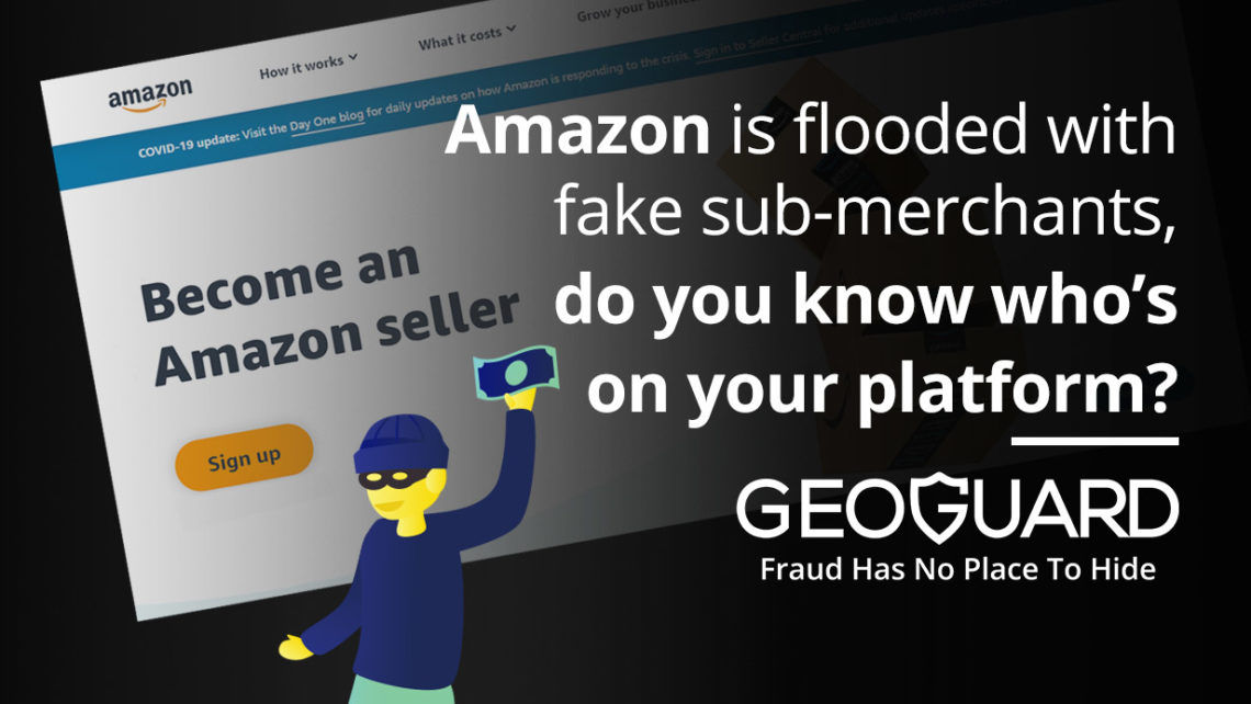 Amazon is flooded with fake sub-merchants