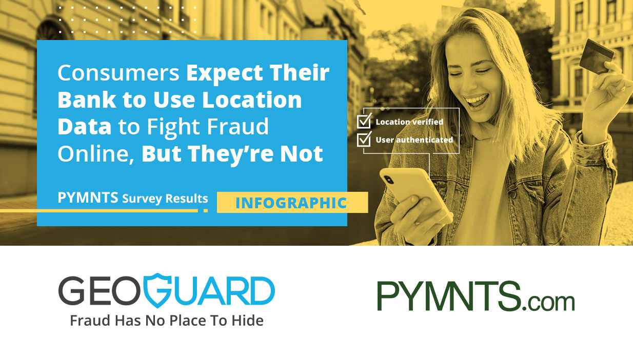 Consumers Expect Their Bank to Use Location Data to Fight Fraud Online, But They're Not – Infographic
